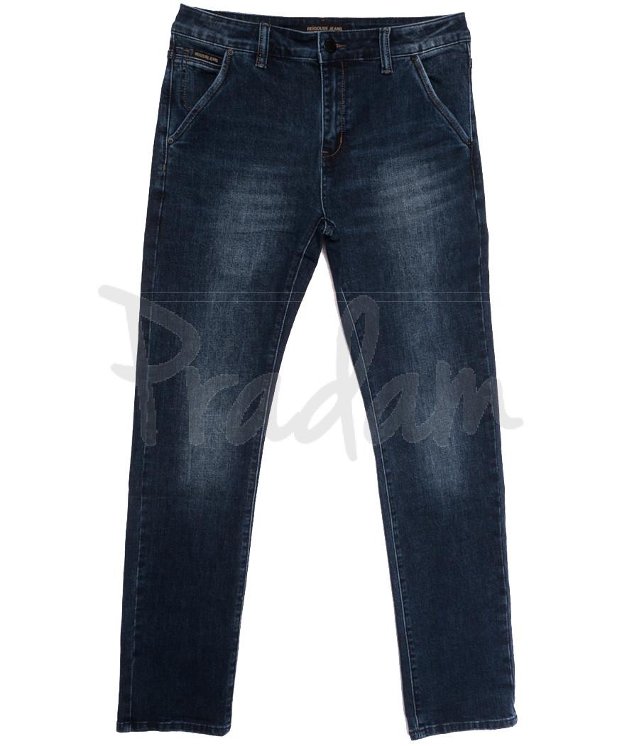 04777 (04-777) Reigouse джинсы мужские полубатальные синие осенние стрейчевые (32-38, 8 ед.)