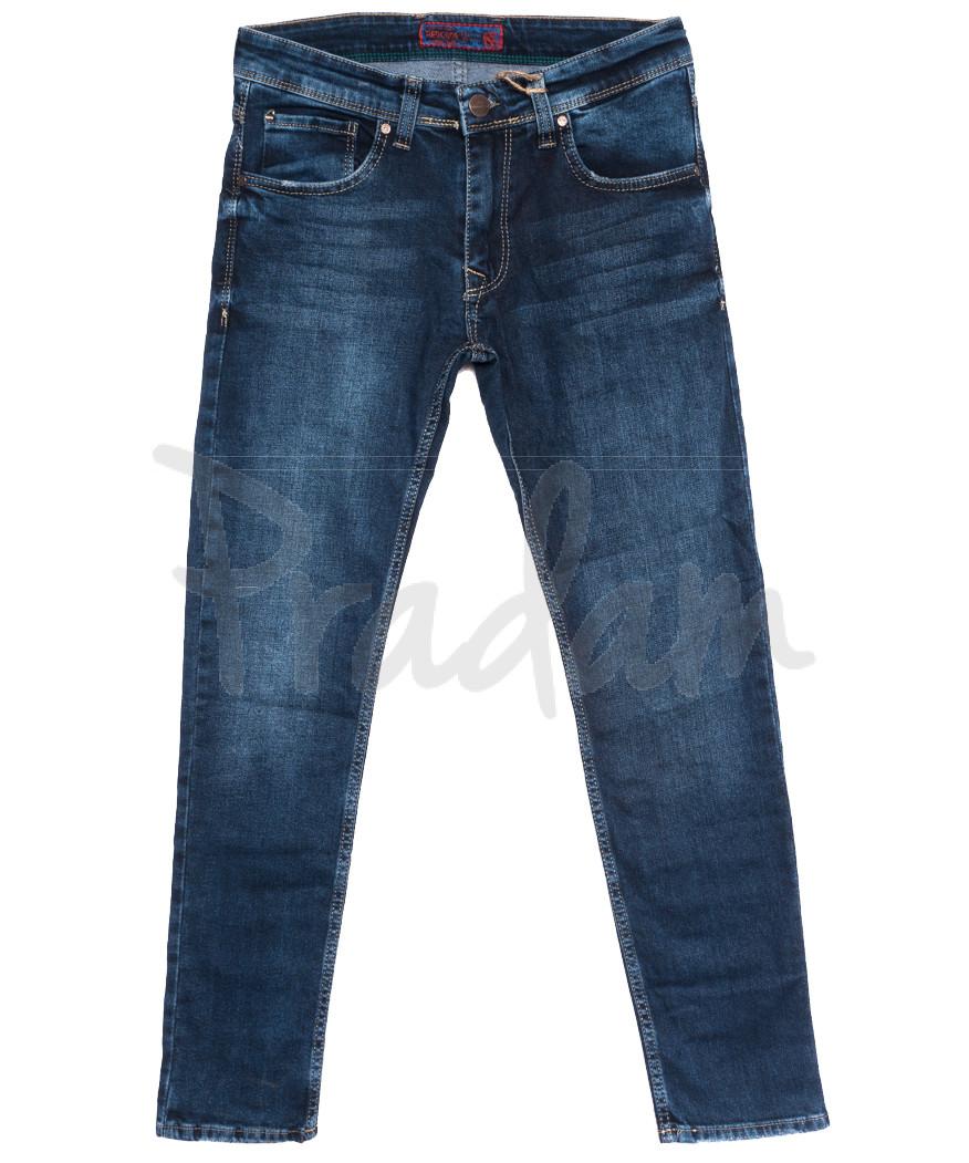 7220 Redcode джинсы мужские синие осенние стрейчевые (29-36, 8 ед.)