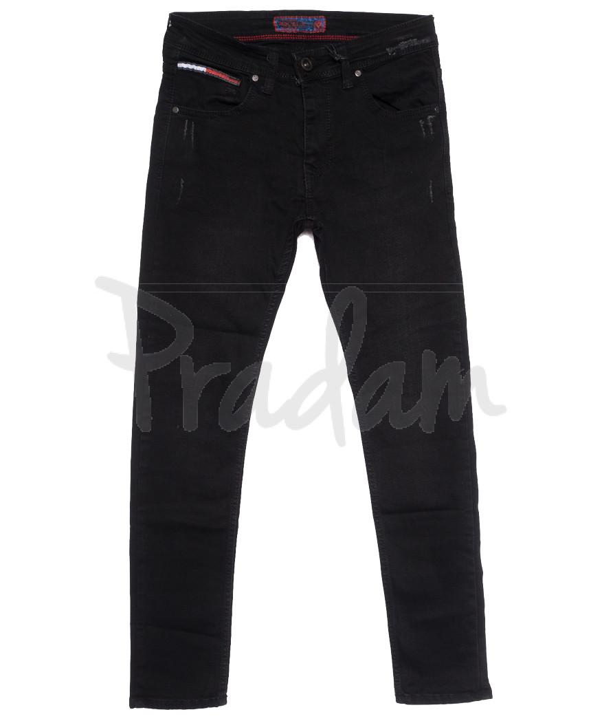 7234 Redcode джинсы мужские черные осенние стрейчевые (29-36, 8 ед.)