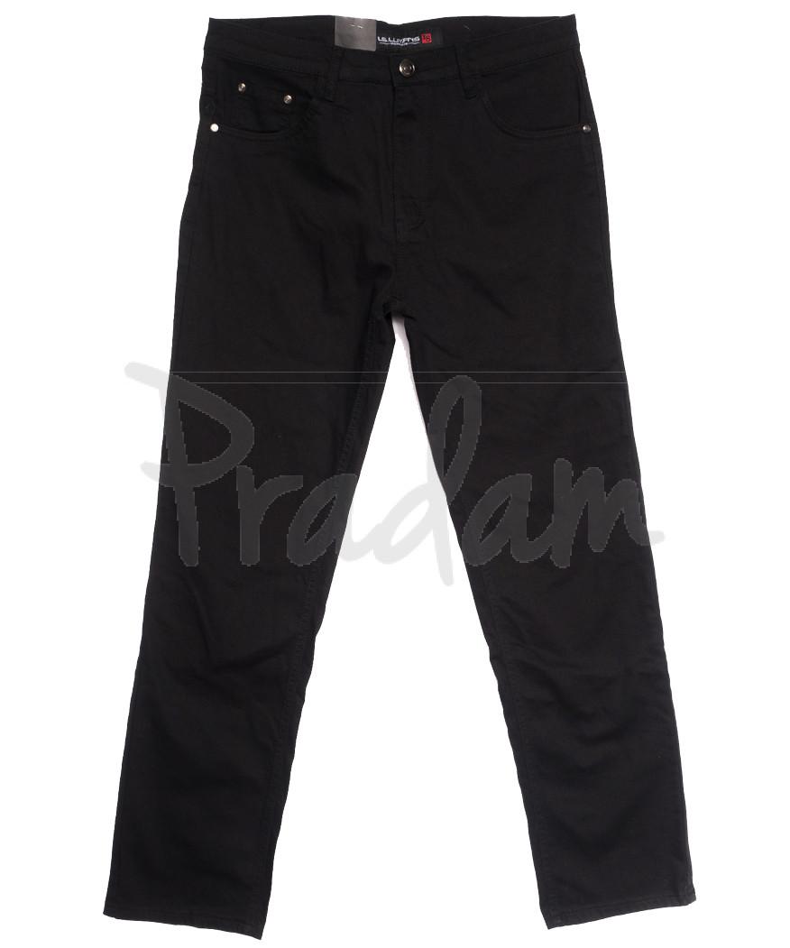 8817 (8817D) LS джинсы мужские батальные черные осенние стрейчевые (34-44, 8 ед.)