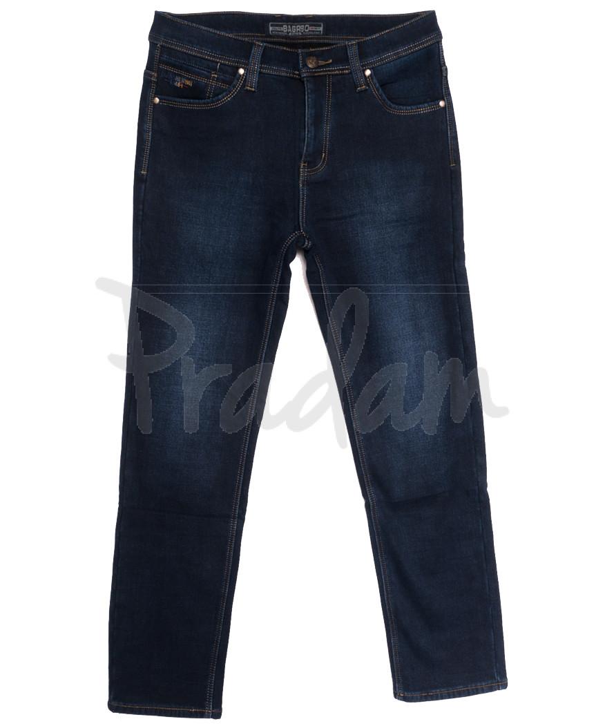2028 Bagrbo джинсы мужские на флисе синие зимние стрейчевые (29-38, 8 ед.)