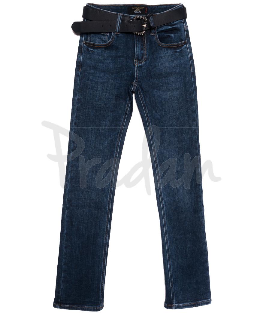 6265 Dimarkis Day джинсы женские на флисе синие зимние стрейчевые (25-30, 6 ед.)