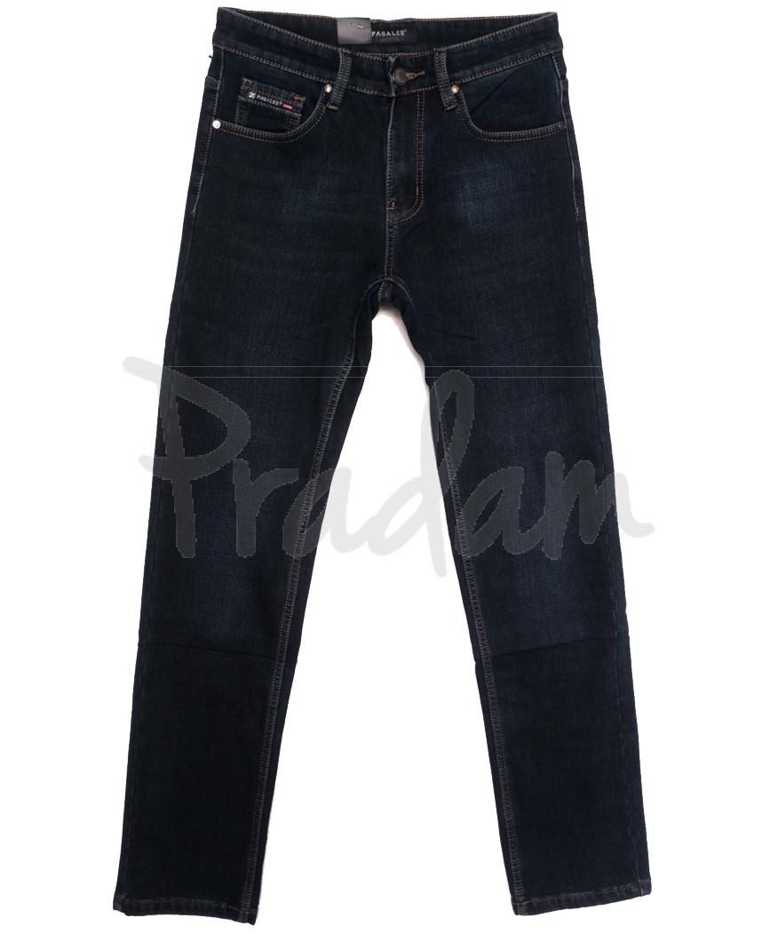 1091 Pаgalee джинсы мужские на флисе синие зимние стрейчевые (30-38, 8 ед.)