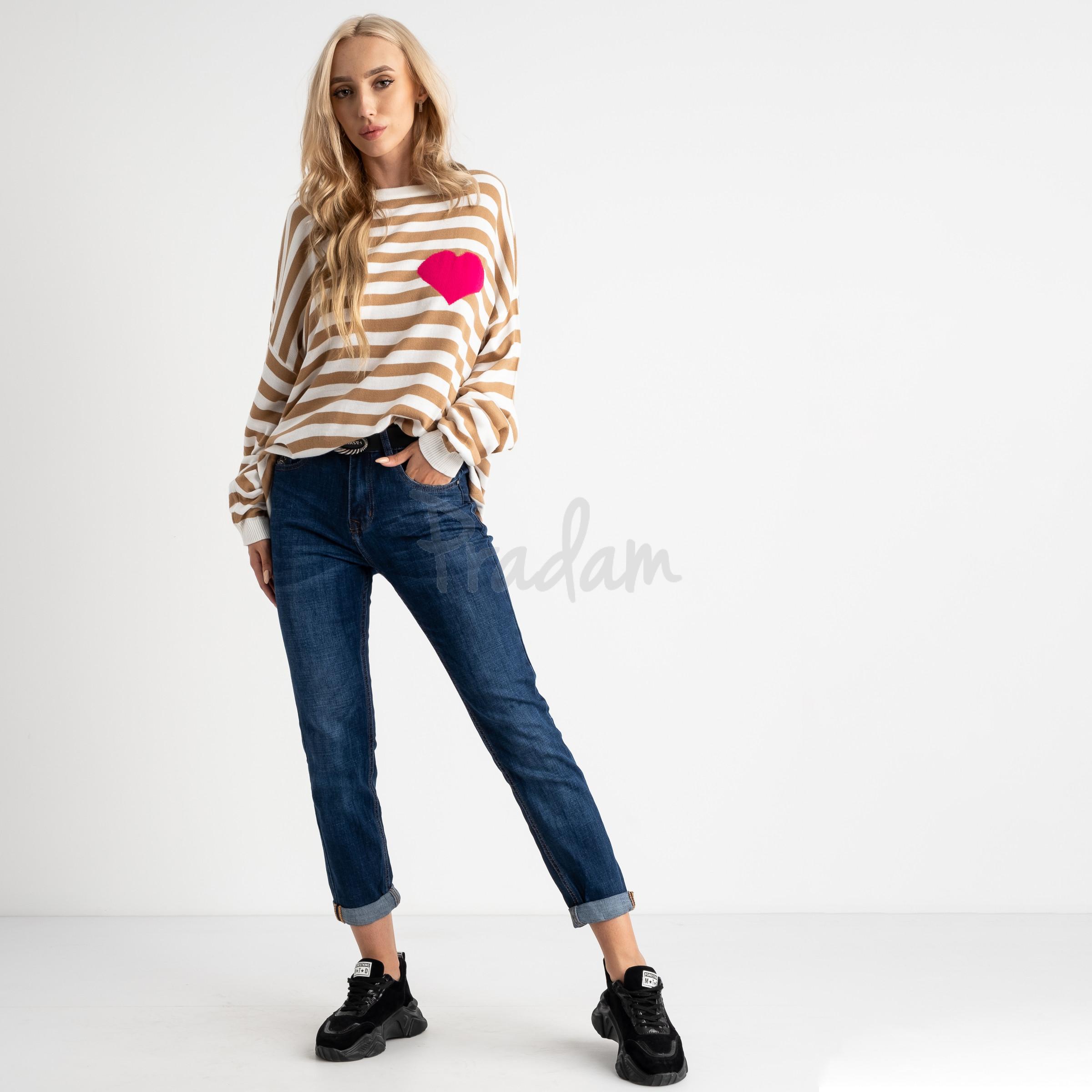 9017 OK&OK джинсы женские синие стрейчевые (6 ед. размеры: 25.26.27.28.29.30)