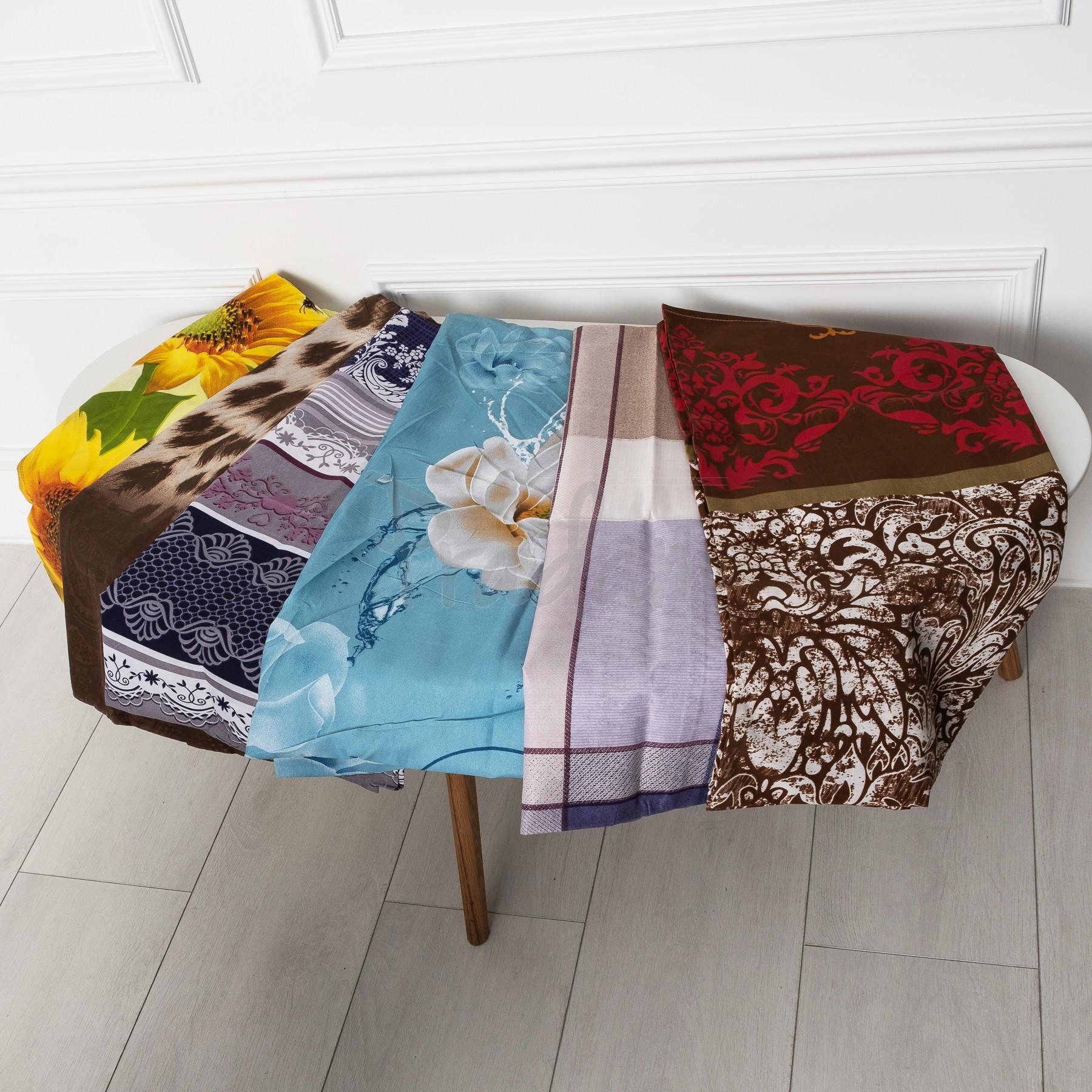 0805 наволочка на подушку микс цветов без выбора цветов 70*70 (5 уп. по 2 единицы)