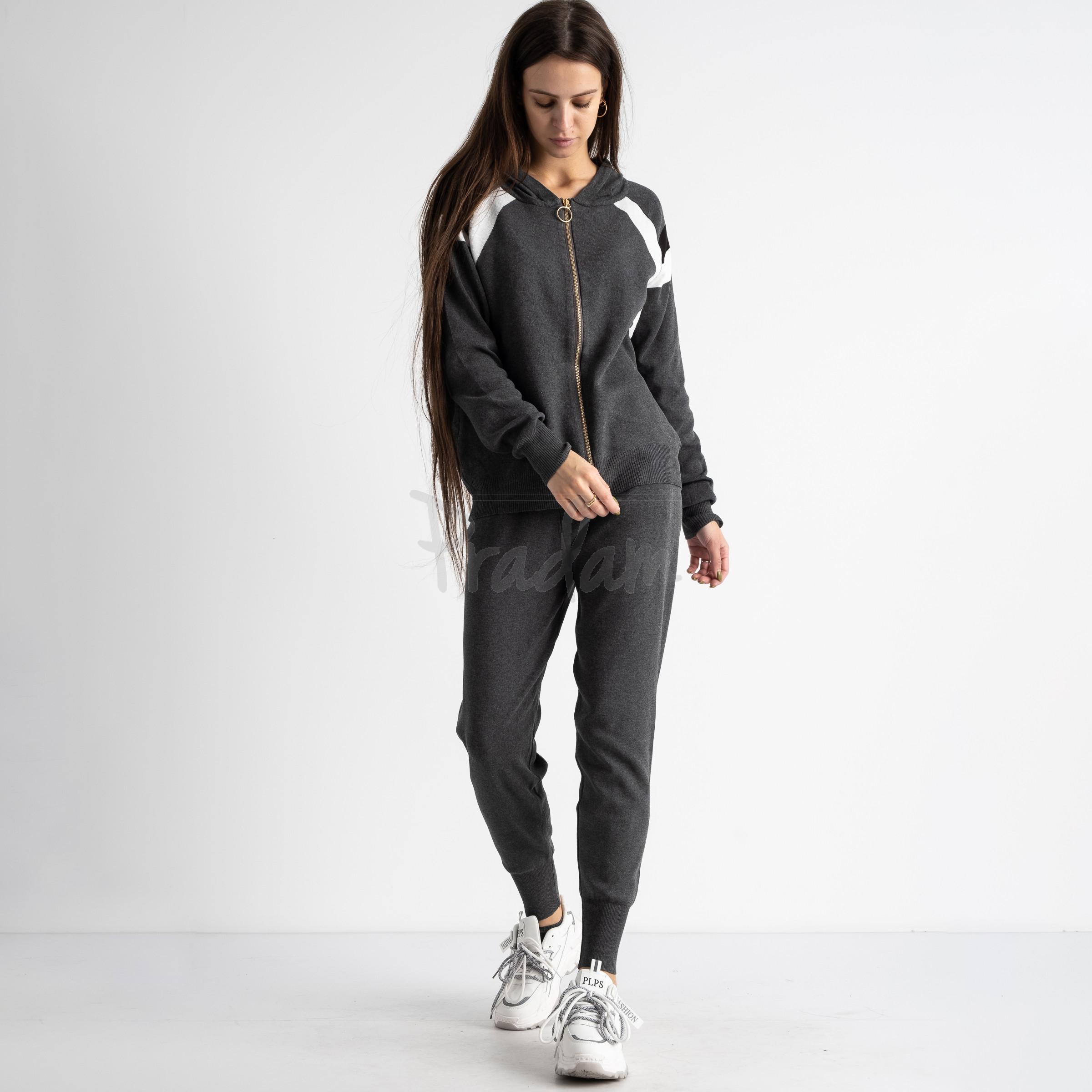 1602-1 M.K.Store серый спортивный костюм женский (3 ед.размеры: универсал 44-48)