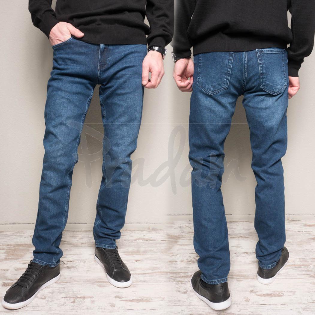 1164-B Cookers джинсы мужские полубатальные синие весенние стрейчевые (32-42, 7 ед.)