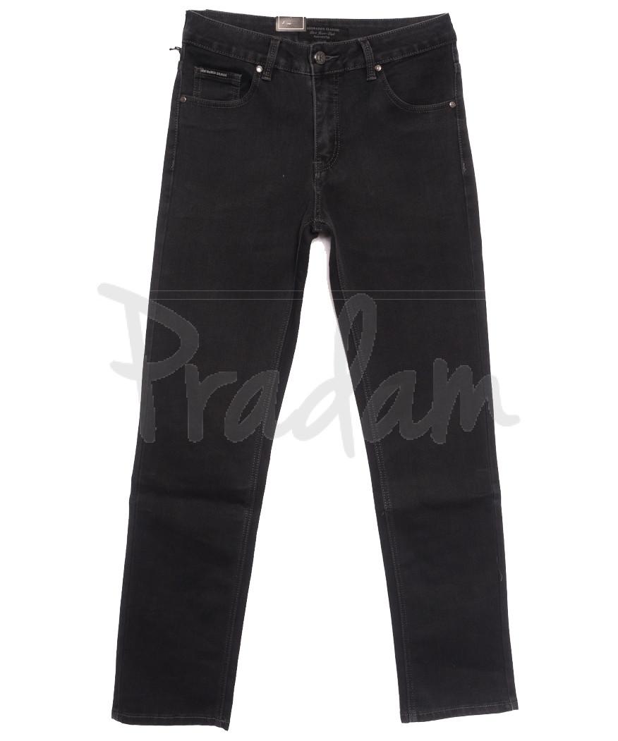 9480 God Baron джинсы мужские серые осенние стрейчевые (30-40, 8 ед.)