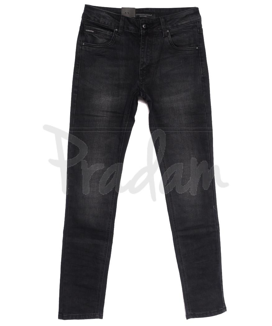 9305 God Baron джинсы мужские молодежные серые осенние стрейчевые (28-36, 8 ед.)