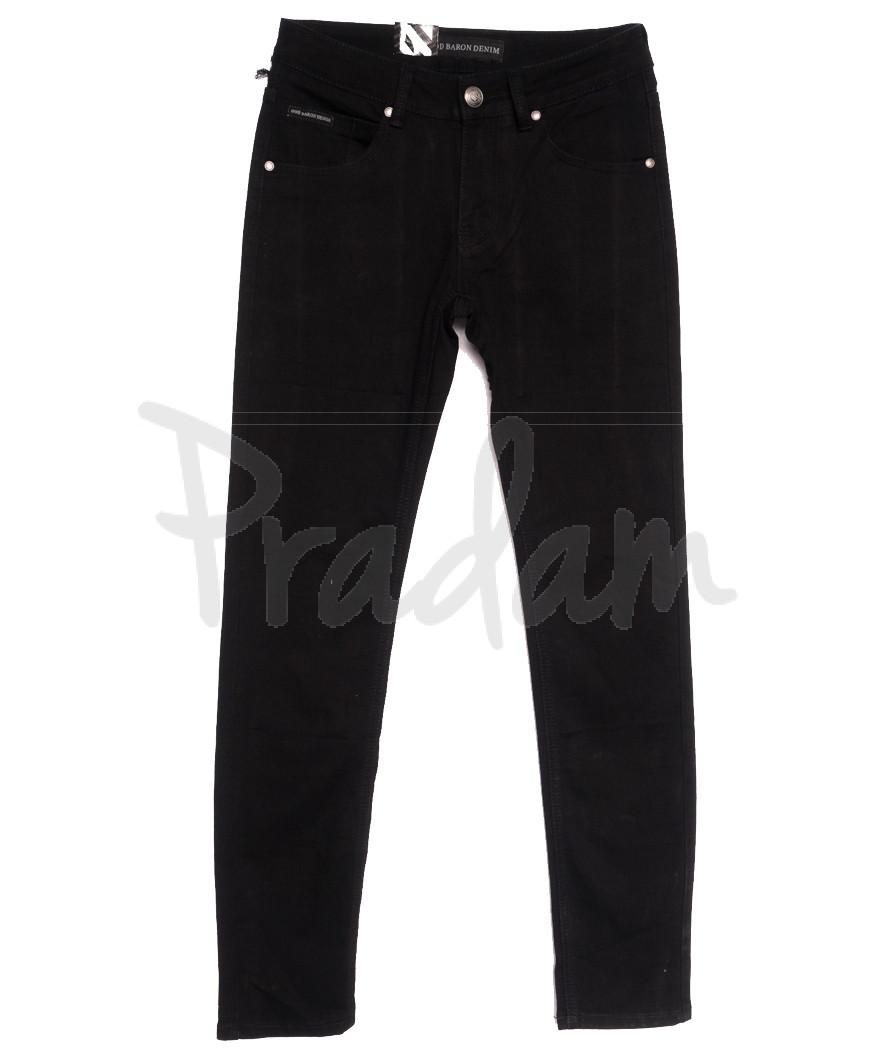 2011 God Baron джинсы мужские молодежные черные осенние стрейчевые (28-34, 8 ед.)