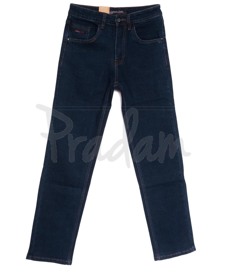 1038 LS джинсы мужские синие осенние стрейчевые (30-36, 8 ед.)