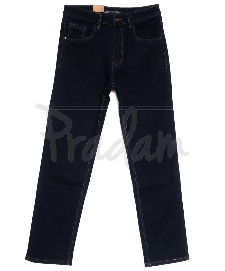 1042 LS джинсы мужские полубатальные темно-синие осенние стрейчевые (32-38, 8 ед.)