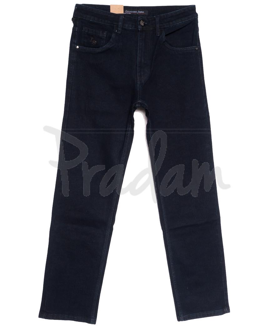 1043 LS джинсы мужские полубатальные темно-синие осенние стрейчевые (32-38, 8 ед.)