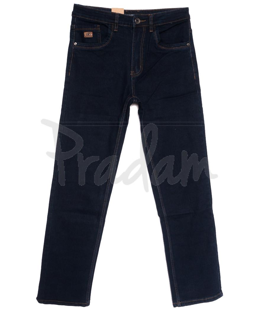 1045 D LS джинсы мужские полубатальные темно-синие осенние стрейчевые (32-42, 8 ед.)