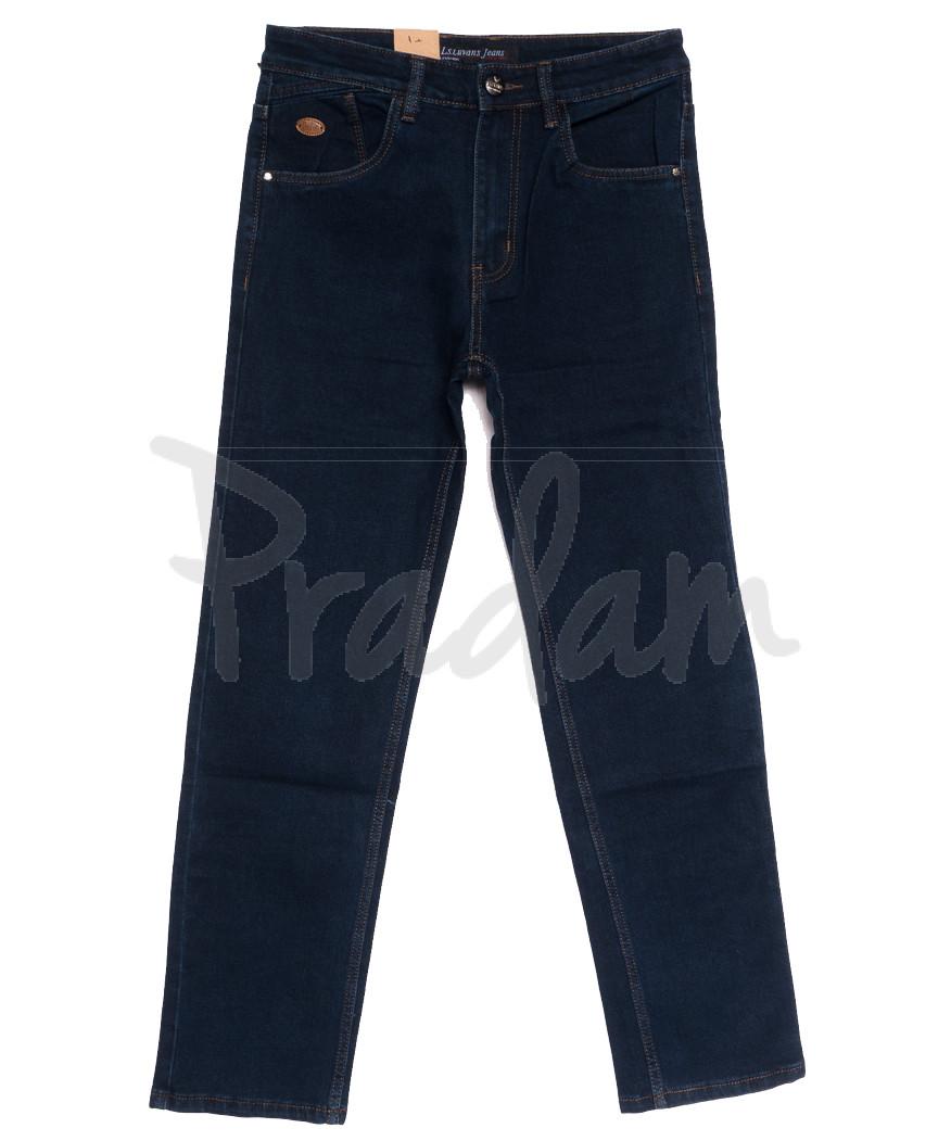 1040 LS джинсы мужские полубатальные темно-синие осенние стрейчевые (32-38, 8 ед.)
