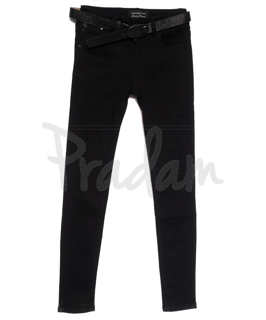 6050 Dimarkis Day джинсы женские черные осенние стрейчевые (25-30, 6 ед.)