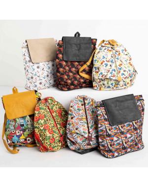 8999-2 цветной рюкзак женский микс 5-ти моделей (5 ед. без выбора моделей)