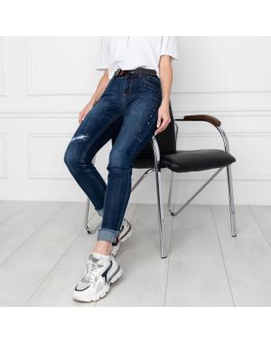 5005 OK&OK джинсы женские синие стрейчевые (6 ед. размеры: 25.26.27.28.29.30)