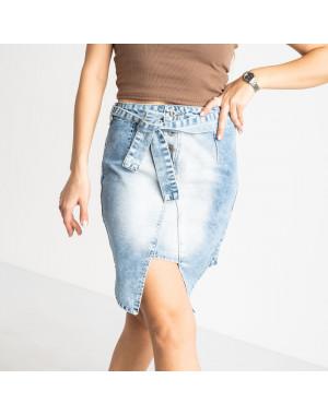 E 0056-2 ONDI юбка женская голубая котоновая (5 ед. размеры: 36.38/2.40.42)