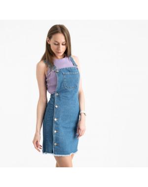 2926-17 Xray сарафан джинсовый голубой котоновый ( 7 ед. размеры: 34/2.36/3.38.40)