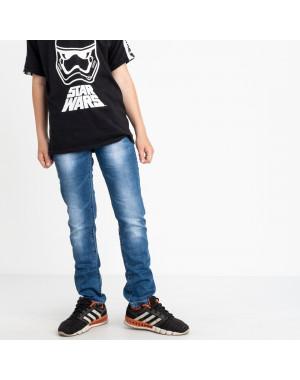 0091-1 Vingvgs джинсы юниор голубые стрейчевые (6 ед. размеры: 30.31.32.33.34.35)