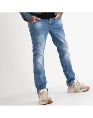2128 Fang джинсы голубые стрейчевые (8 ед. размеры: 29.30.31.32.33.34.35.36)