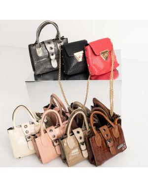 9996 сумки женские микс из 5-ти моделей (5 ед. без выбора модели)