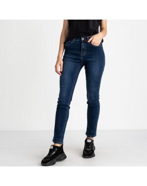 5030 New Jeans американка полубатальная синяя стрейчевая (6 ед. размеры: 28.29.30.31.32.33)