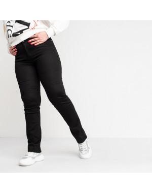9767 Sunbird черные джинсы женские батальные  стрейчевые (6 ед.размеры: 30.32.34.36.38.40)