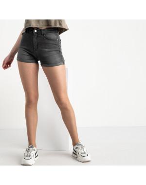 0700-2855 Kind Lady шорты серые стрейчевые (7 ед. размеры: 34.36.38.40.42/2.44)