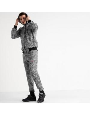 16201-1 черный спортивный костюм из двунитки (4 ед. размеры: 46.48.50.52)
