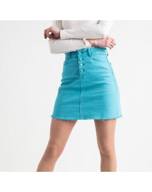 1901 Arox юбка джинсовая голубая котоновая (4 ед. размеры: 34.36.38.40)