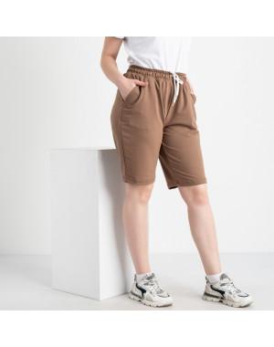 2230-9 Mishely шорты мокко женские батальные из двунитки ( 4 ед. размеры: 50.52.54.56)