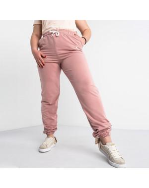 14870-2  Mishely пудра брюки женские спортивные батальные стрейчевые (4 ед. размеры: 50.52.54.56)