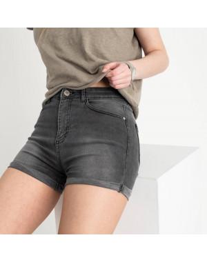 0700-2853 Kind Lady шорты серые стрейчевые (7 ед. размеры: 34.36.38.40.42.44/2)