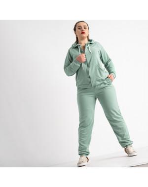 15111-8 Mishely полынь спортивный костюм батальный женский из двунитки (4 ед. размеры: 50.52.54.56)