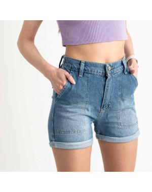 3471 Xray шорты женские голубые котоновые (5 ед. размеры:34.36.38.40.42)