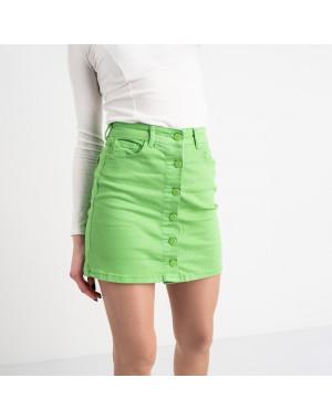 0004-11 Arox юбка женская зеленая котоновая (4 ед. размеры: 34.36.38.40)