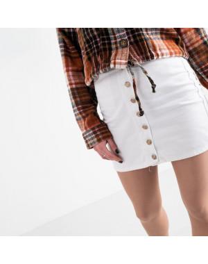 0001 Arox юбка женская белая котоновая (4 ед. размеры: 34.36.38.40)