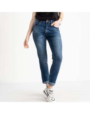 0546-8 A Relucky джинсы полубатальные женские синие стрейчевые (6 ед. размеры: 28.29.30.31.32.33)