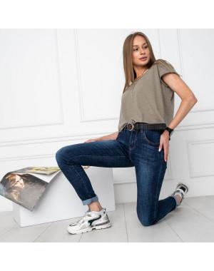 5013 OK&OK джинсы женские синие стрейчевые (6 ед. размеры: 25.26.27.28.29.30)