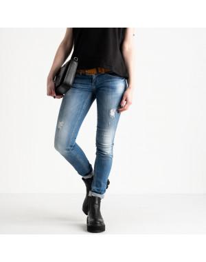 9365-581 Colibri джинсы женские голубые стрейчевые (6 ед. размеры: 25.26.27.28.29.30)