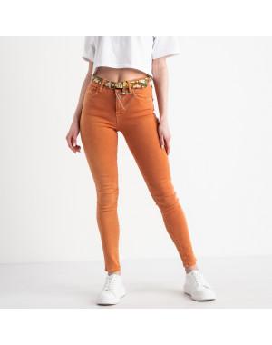 0411 Whats up 90s американка оранжевая стрейчевая (5 ед. размеры: 26.27.28.29.30)