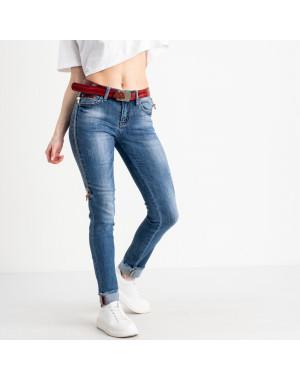 8182 Vanver джинсы женские голубые стрейчевые ( 6 ед. размеры: 25.26.27.28.29.30)
