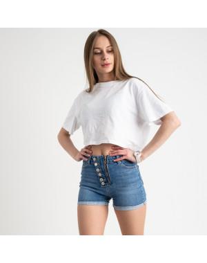 2788-1 Xray шорты женские голубые стрейчевые (5 ед. размеры: 34.36.38.40.42)