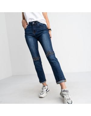 9013 OK&OK джинсы женские синие стрейчевые (6 ед. размеры: 25.26.27.28.29.30)