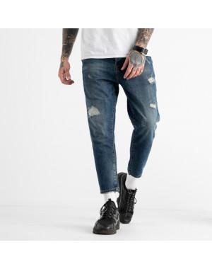 1765 мужские джинсы синие котоновые (8 ед. размеры: 42.44.44.46.46.48.48.50)