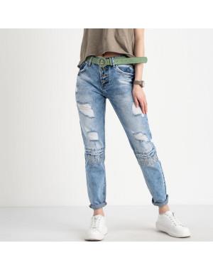 8257 Vanver джинсы женские голубые котоновые ( 6 ед. размеры: 25.26.27.28.29.30)