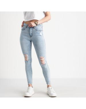 0505-2 Monkey Ride Jeansе американка голубая стрейчевая ( 6 ед. размеры: 25.26.27.28.29.30)