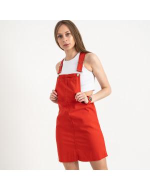 2908 Defile сарафан джинсовый красный котоновый (7 ед. размеры: 34/2.36/2.38/2.40)